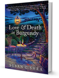 Love & Death in Burgundy by Susan Shea